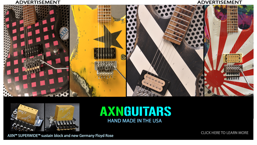 Available AXN™ Guitars