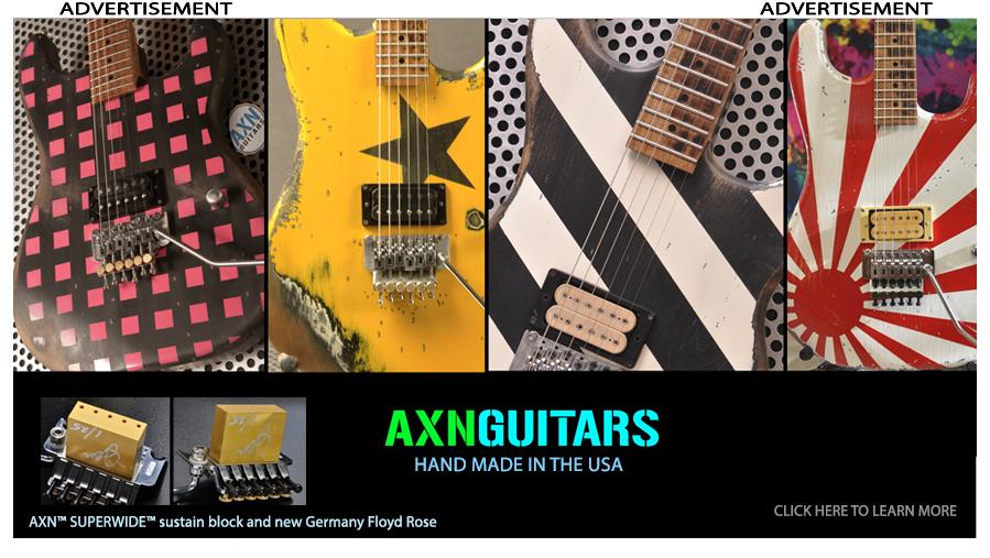 Available AXN™ Guitars