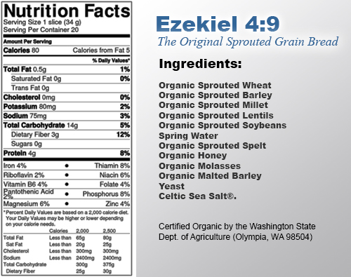 how to prepare ezekiel bread